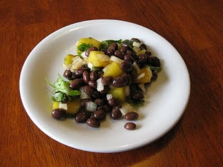 Black Bean Mango Salsa (no tomatoes!!)