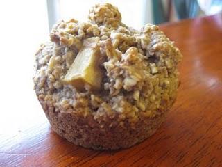 Apple Cinnamon Oatmeal Muffins… Gluten, Egg, Dairy, Cane Sugar Free