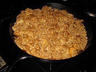 Gluten Free/Vegan Apple Crisp