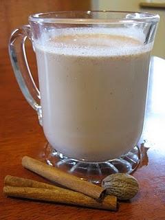 Dairy Free/Vegan Warm Maple Sesame Drink