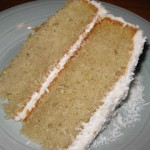 The gluten/dairy free version of the Barefoot Contessa's Coconut Cake