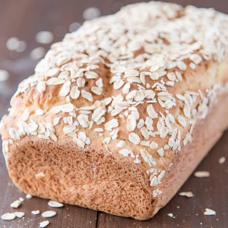 gluten free bread with oatmeal