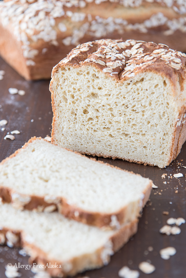 Gluten-Free Oatmeal Millet Bread from Allergy Free Alaska
