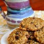 Healthy Oatmeal Raisin Cookies (egg, refined sugar, xanthan/guar gum free)