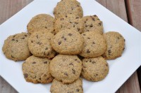 Stevia Sweetened Chocolate Chip Cookies… grain & gum free