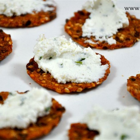 Goat Cheese Spread for Crackers or Veggies
