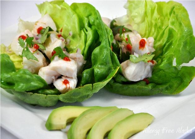 Ceviche Lettuce Wraps 628px