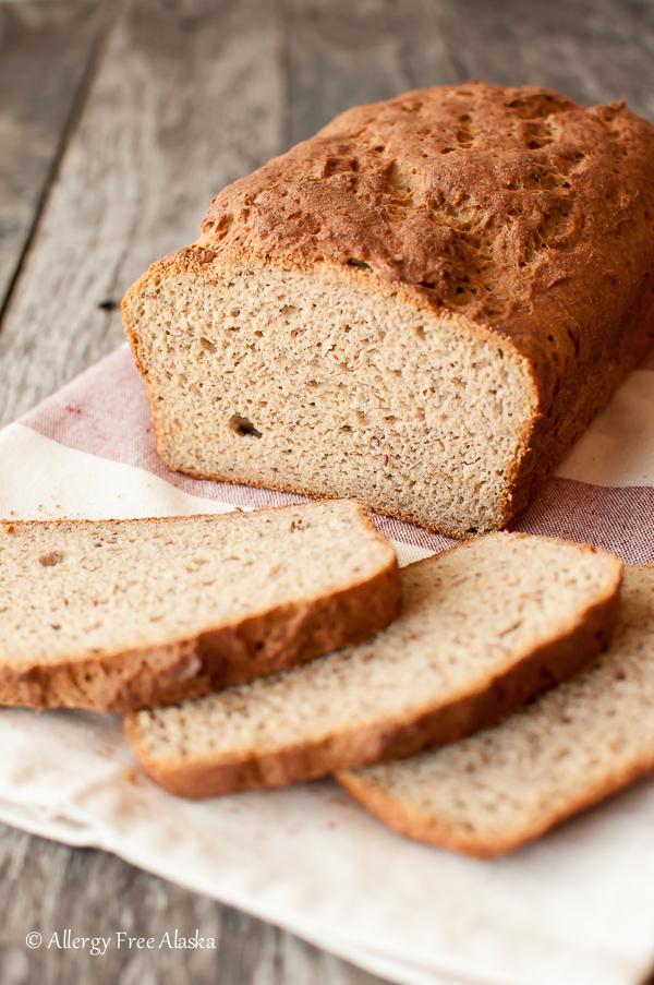 Gluten-Free Rice-Free Multigrain Bread Recipe from Megan of Allergy Free Alaska