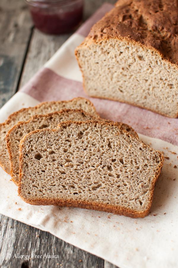 Gluten-Free Rice Free Multigrain Bread Recipe