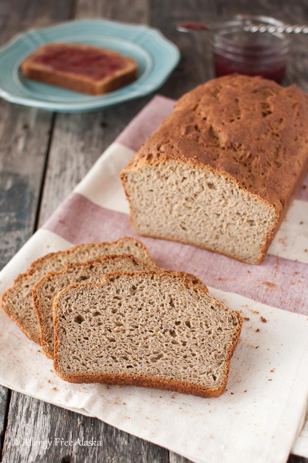 Gluten-Free Rice-Free Multigrain Recipe from Allergy Free Alaska Blog