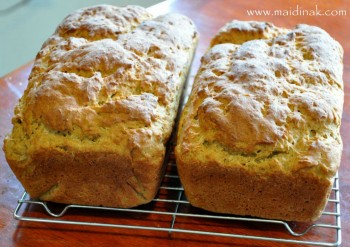 Version #2 – Gluten & Rice Free Multigrain Bread Recipe (for two full-sized bread loaves)