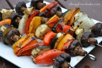 Marinated Veggie Kabobs for the BBQ