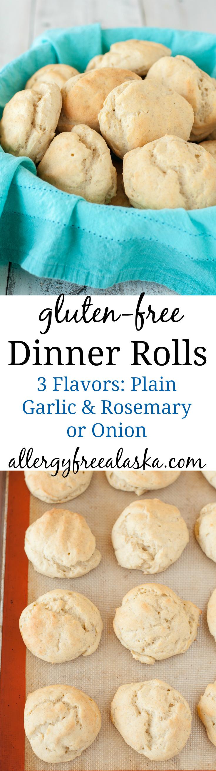 Gluten Free Dinner Rolls Recipe