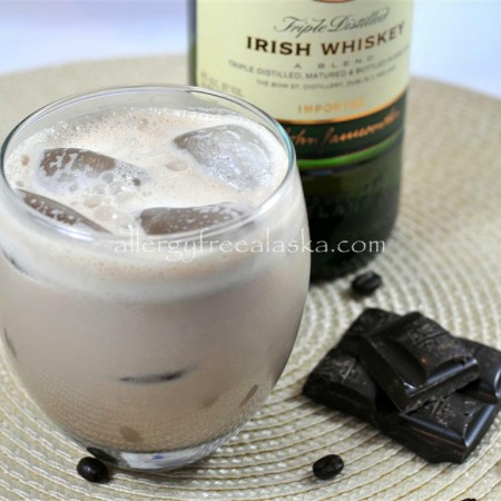 Dairy Free Irish Cream Liqueur (refined sugar free & vegan)