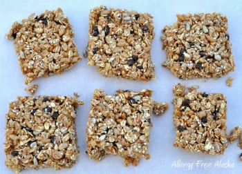 No Bake Rice Crispy Treat Granola Bars