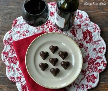 Easy 2-Ingredient Chocolates (soy & nut free, vegan)
