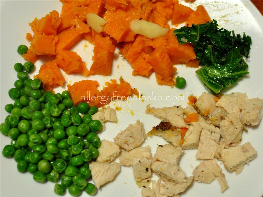 chicken sweet potato abbi (Medium)