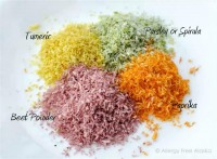 Naturally Dyed Homemade Sprinkles (grain, sugar & top-8 allergen free)