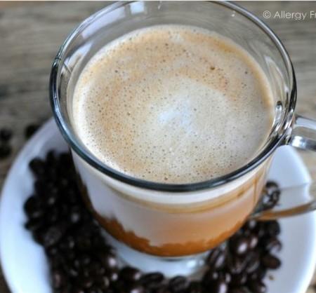Dairy Free Caramel Macchiato (Paleo, vegan & refined sugar free)