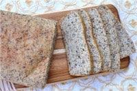 Grain Free High Protein & Fiber Bread (xanthan/guar gum free)