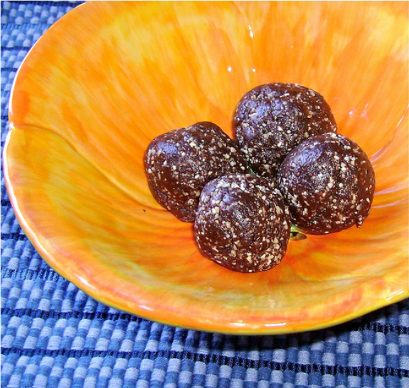 Wild Orange Chocolate Balls