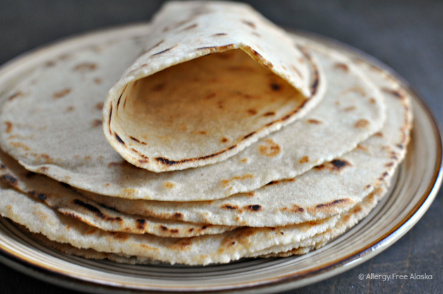 Grain-Free & Vegan Tortillas