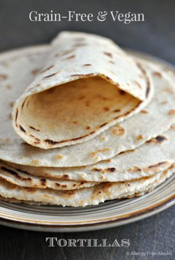 Grain-Free & Vegan Tortillas (and a giveaway!)