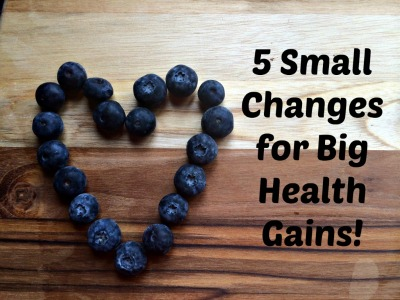 5 small changes health gains