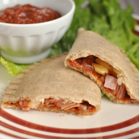 Grain-Free Aloha Pizza Pockets