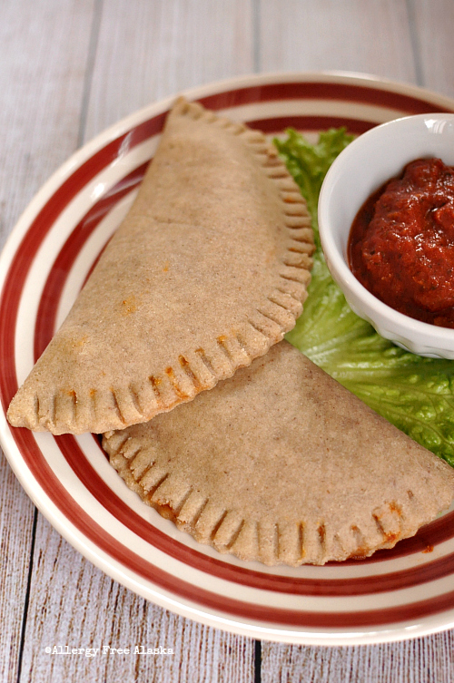 Grain and Egg Free Aloha Pizza Pockets - Allergy Free Alaska