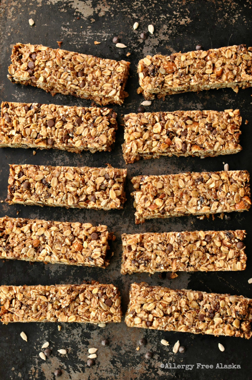 Perfect Gluten & Egg Free Granola Bars - Allergy Free Alaska