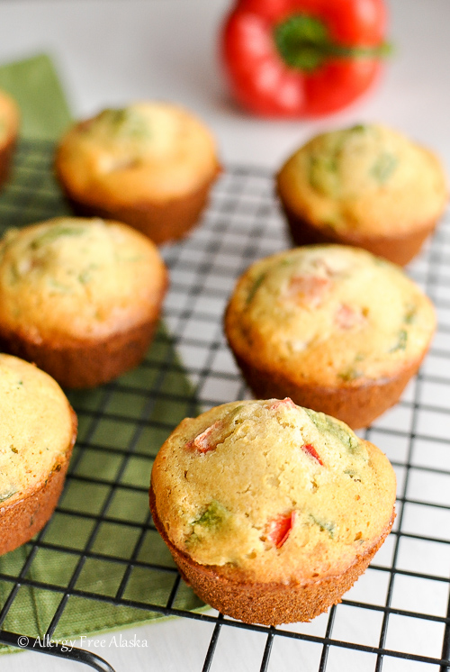 Gluten-Free Breakfast Muffins with Ham & Veggies Recipe - Allergy Free Alaska