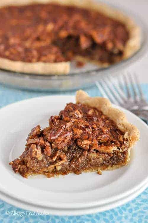 Gluten Free Corn Syrup Free Pecan Pie