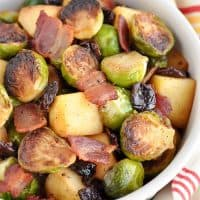 Brussel Sprouts with Apples and Bacon