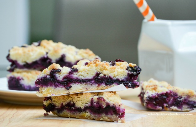 Blueberry-Crumble-Bars from What the Fork