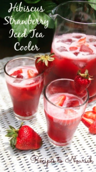 Hibiscus-Strawberry-Iced-Tea-Cooler-Recipes-to-Nourish