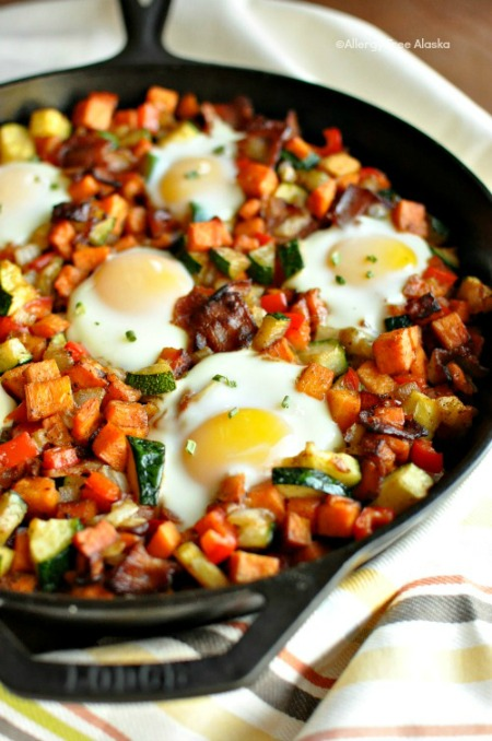 Sweet-Potato-Breakfast-Skillet-with-Bacon-Recipe-AllergyFreeAlaska