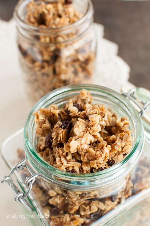 Chai Spiced Honey Granola Recipe - Allergy Free Alaska