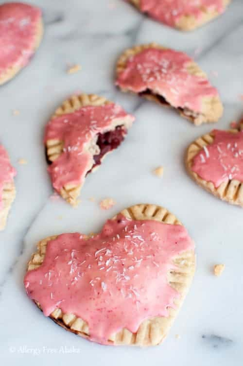 Gluten Free Vegan Strawberry Pop Tarts - Allergy Free Alaska