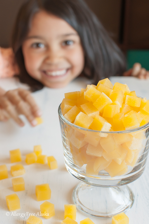 Allergy Free Alaska - Tropical Fruit Snacks Recipe