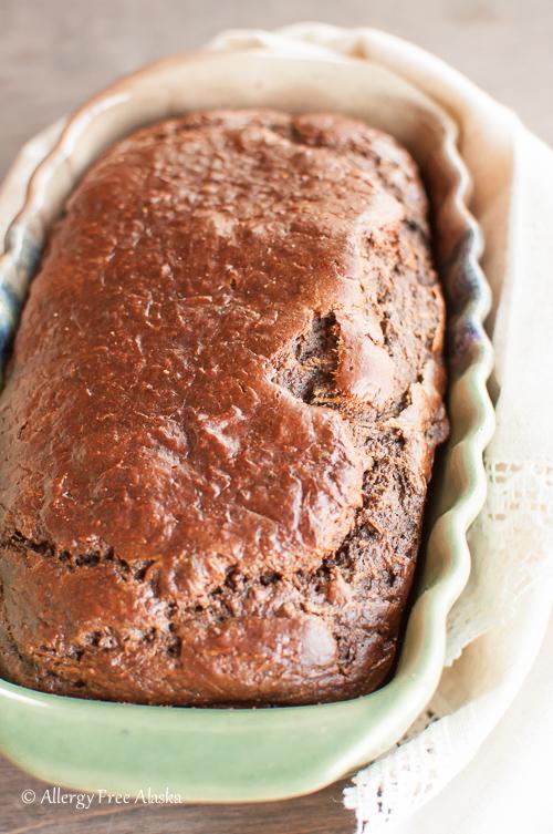 Paleo Chocolate Zucchini Bread - Allergy Free Alaska