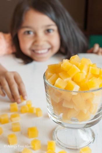 Tropical Orange Fruit Snacks