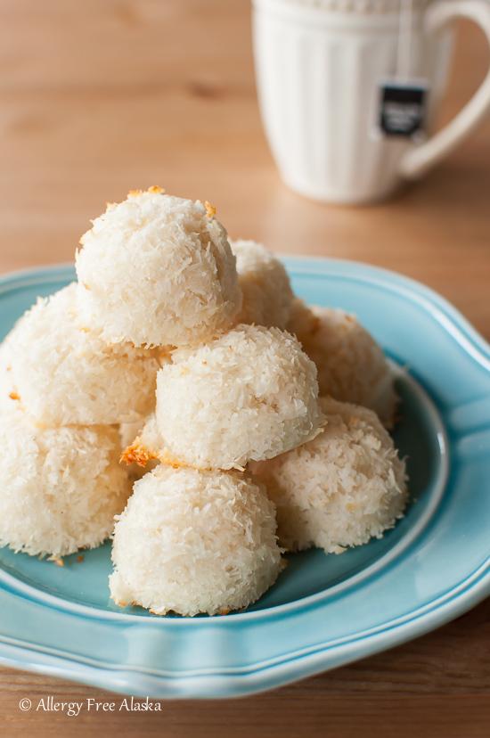 Sugar Free Vanilla Macaroons Recipe - Allergy Free Alaska
