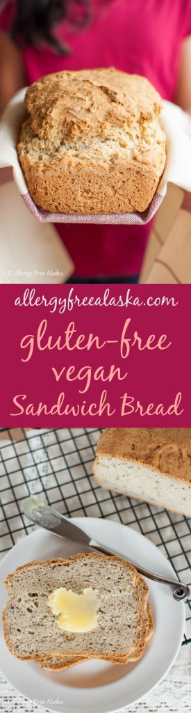 Amazing Gluten-Free Vegan Sandwich Bread from Allergy Free Alaska
