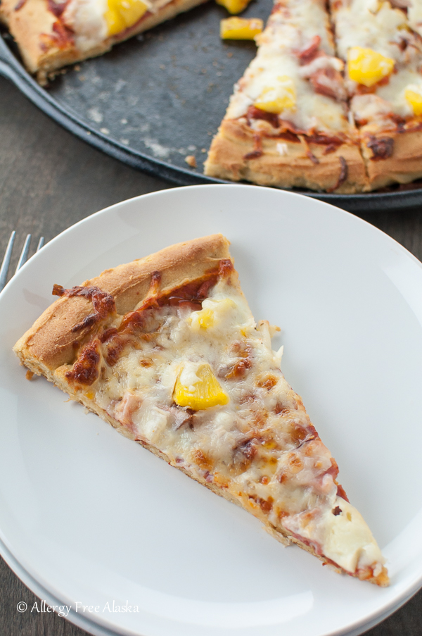 Gluten-Free Dairy-Free Pizza Crust Recipe from Allergy Free Alaska