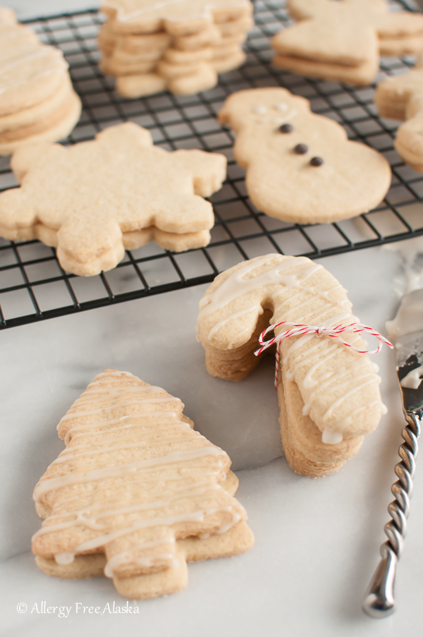 Gluten Free Dairy Free Sugar Cookie Cut Outs - Allergy Free Alaska