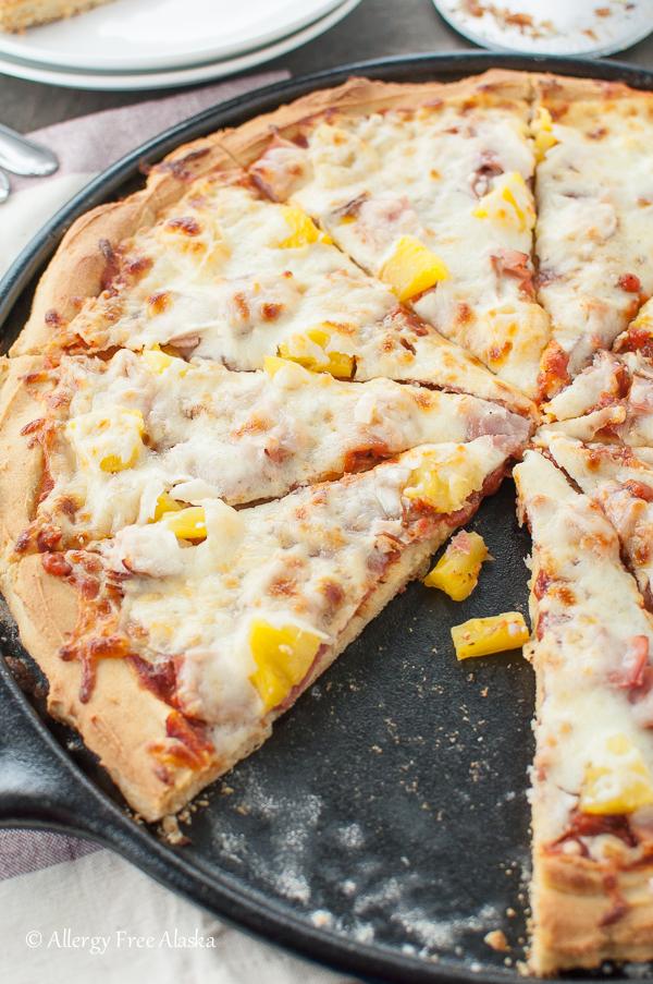Gluten-Free Pizza Crust Recipe from Allergy Free Alaska