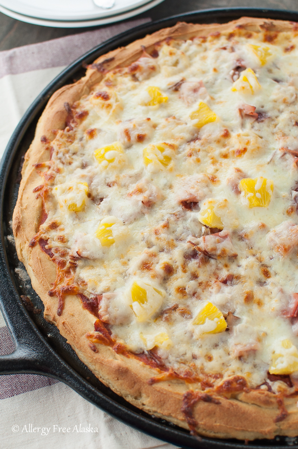 The Best Gluten-Free Pizza Crust Recipe Ever. From Allergy Free Alaska
