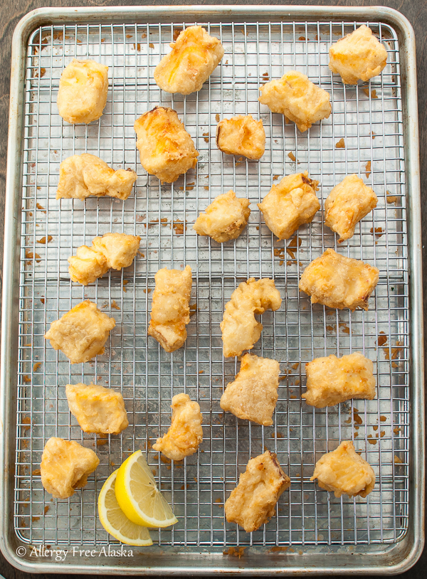 Gluten Free Beer Battered Halibut Recipe from Allergy Free Alaska
