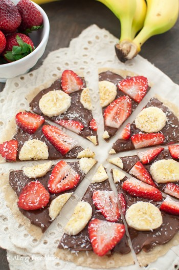 Gluten Free Sweet Tortilla Pizza